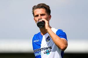 bristol rovers striker concerns as forest green star shows darrell clarke what he offers - findings from friendly loss