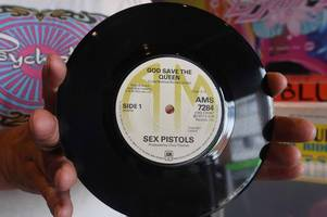 new boldmere record shop is selling the sex pistols' rarest single for £15,000