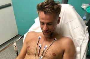 Richard Bacon speaks out over death scare following hospital pneumonia battle