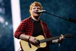 the top ten earning celebrities of last year revealed - from ed sheeran to cristiano ronaldo