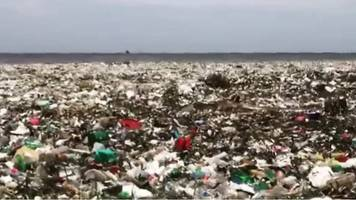 wave of plastic hits dominican republic