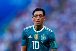 Mesut Ozil retires from Germany duty and slams the racism and disrespect he suffered after poor World Cup