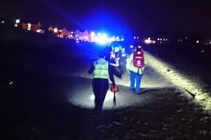 woman taken to hospital after falling 20ft from aberavon pier