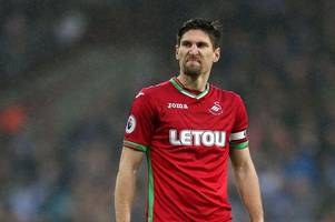 swansea city star federico fernandez linked with newcastle united loan, liverpool's 'shock interest' in ayew - full transfer digest
