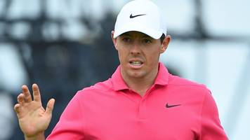 The Open 2018: Rory McIlroy eagles 14 to increase Open title chances