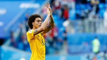 borussia dortmund interested in move for belgium world cup star axel witsel