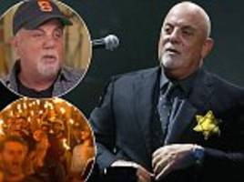 Billy Joel wore Star of David for family  'murdered in Auschwitz' after President Trump Nazi support