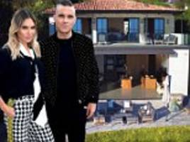 robbie williams and ayda field splash out $21million on sprawling malibu estate