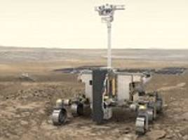 Tim Peake launches a competition to name the Mars rover