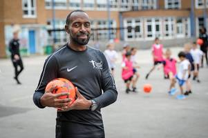 former england and aston villa star darius vassell talks world cup, gareth southgate's leadership and hopes for his new soccer school