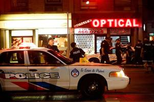 Toronto mass shooting leaves gunman and one victim dead with 13 others injured