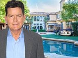 charlie sheen slashes $800k off the price of his beverly hills home