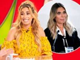 x factor exclusive: stacey solomon defends ayda field's role as new judge