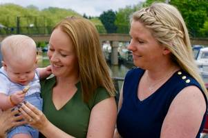 gay couple's emotional journey to become mums together