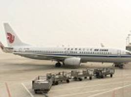 air china flight forced to turn back over 'terrorist information'