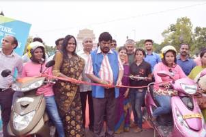 union minister ramdas athawale lauds bikxie for providing 100 e-bikes to women from weaker section