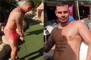 brazen brothel row nail bomber boasted about party lifestyle in tenerife while on the run