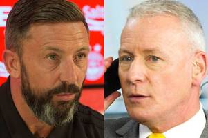 jim white is clueless and selling adam rooney was right thing to do - derek mcinnes hits back at snipers