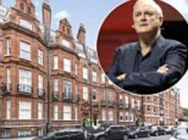 it's far from fawlty towers! john cleese puts his chelsea pied-a-terre on market for £1.25million