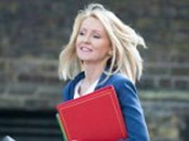 pupils should get summer holiday jobs to prepare them for work says esther mcvey dwp secretary