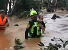 thai cave rescue team save four-month-old baby four days after deadly laos dam collapse