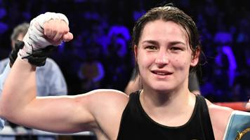 katie taylor: unified world lightweight champion successfully defends belts