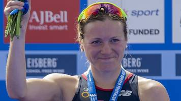 triathlon world series: vicky holland wins gold for britain in edmonton