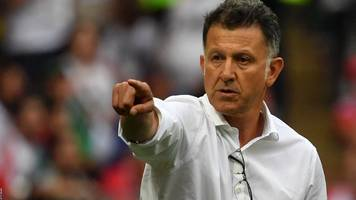 juan carlos osorio: mexico manager quits after three years