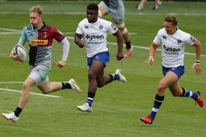 bath rugby rue late lapses as they're knocked out of premiership 7s by harlequins