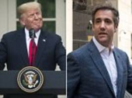 trump trolls michael cohen on twitter, reminding him he once defended don jr.