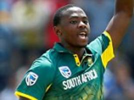 south africa beat sri lanka by five wickets in first odi