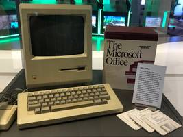 there's a very good reason why microsoft has an original apple macintosh on display in its headquarters (msft, aapl)