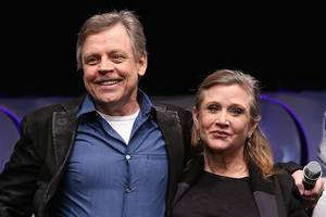 mark hamill says it's 'bittersweet' doing 'star wars: episode ix' without carrie fisher