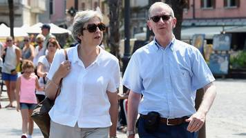 PM Theresa May begins her walking holiday in Italy