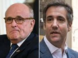 rudy giuliani: trump didn't attend meeting and it wasn't about clinton
