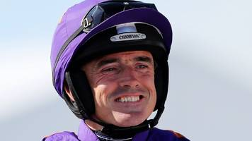 jockey walsh wins on return from broken leg