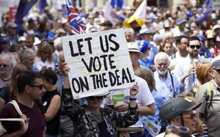 second poll suggests electorate backs new brexit vote