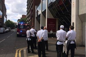 chlorine leak forces evacuation from city centre crowne plaza hotel