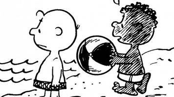 how the first black 'peanuts' character integrated a beloved comic