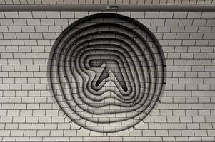 aphex twin is teasing something on the london underground