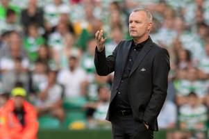 celtic can expect rosenborg to 'take risks' to rescue champions league dream admits stand-in boss rini coolen