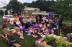 generations come together at wishaw garden event to tackle alzheimer's disease