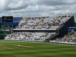 england vs india test begins in front of thousands of empty seats at edgbaston