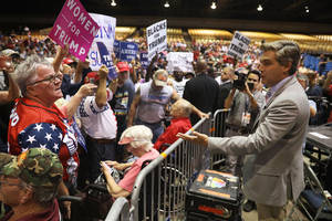 cnn's jim acosta says he was heckled at trump rally: 'the press is not the enemy'