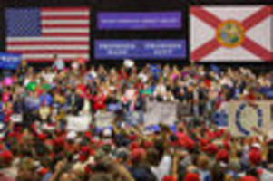 wtf is qanon? 'pizzagate on bath salts' gets national attention at tampa trump rally