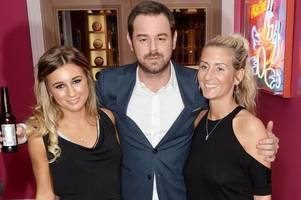 danny dyer's strict house rules jack and dani face - including boys sleeping on blow-up bed when staying over
