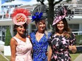 ladies day gets off to a glamorous start at goodwood