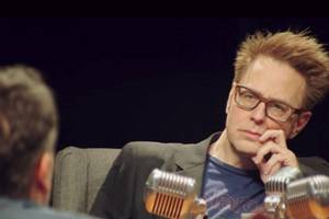 james gunn appears in 'avengers: infinity war' special features with other marvel directors