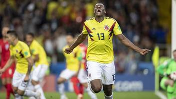 man utd set their sights on colombia world cup star yerry mina as harry maguire hopes fade