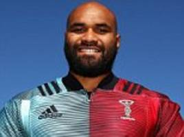 harlequins sign former chicago bears player paul lasike from utah warriors